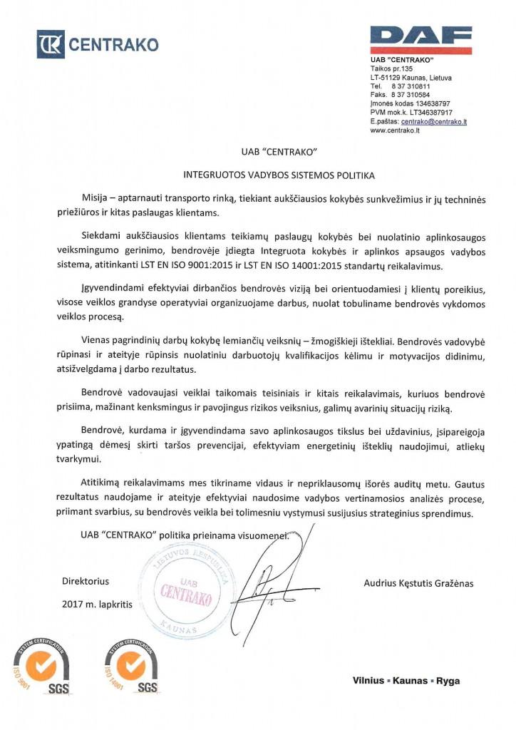 INTEGRUOTOS VADYBOS SISTEMOS POLITIKA 2017 11-page-0